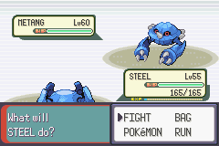 Pokemon Emerald - Battle  - Well crud... - User Screenshot