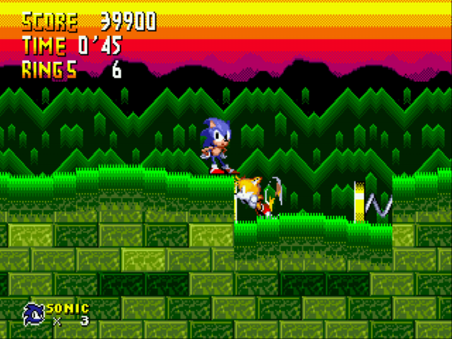 Sonic 2 Advanced Edit (beta 2) - Seriously Tails... - User Screenshot