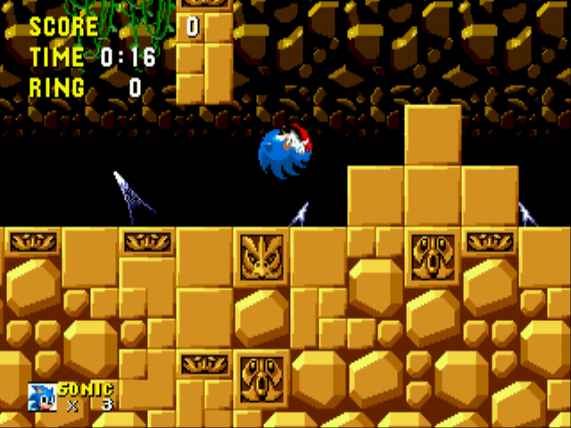 Play Sonic 1 Beta Remake online for free! - Sega Genesis game rom hack