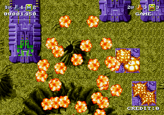 Battle Squadron - Level  - Level - User Screenshot
