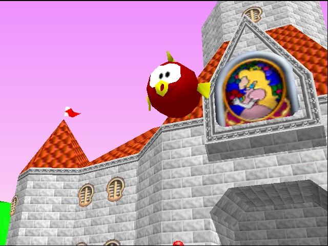 Mario Kart 64 - Ending  - big fish - User Screenshot