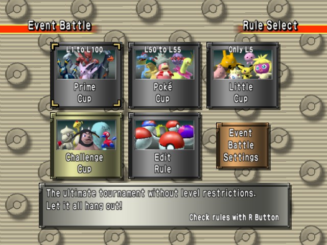 Pokemon Stadium 2 - Location  - two player start - User Screenshot