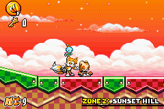 Sonic Advance 3 - Location  - wake-up girls it adventure time - User Screenshot