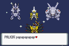 Pokemon Platinum - Cut-Scene  - cool pokemon - User Screenshot