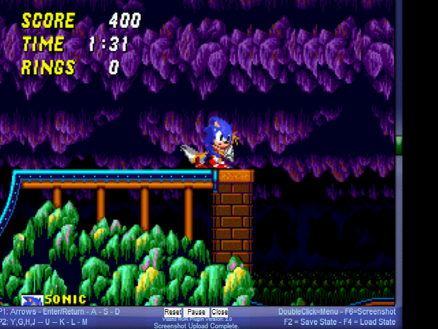 Play Sonic 2 Secret Rings Edition online - Sega Genesis game rom hack