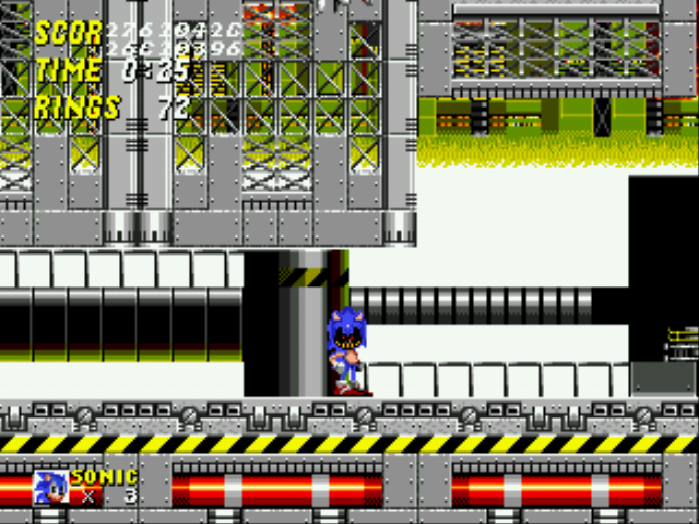 Sonic 2 exe online gen rom hack of sonic the hedgehog 2 retro game