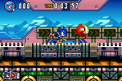 Sonic Advance 3 - Sonic: Im gonna kick this ball Knux: DONT - User Screenshot