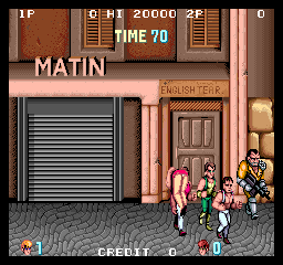 Double Dragon (Japan) - Introduction  -  - User Screenshot