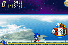 Sonic Advance - Battle  - Final boss - User Screenshot