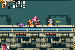 Sonic Advance - Level  - Whack a mole - User Screenshot
