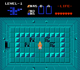 The Legend of Zelda - Misc Win Level - First Triforce piece - User Screenshot