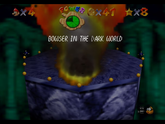 Super Mario 64 - Level Bowser In the Dark World - KABUM! - User Screenshot