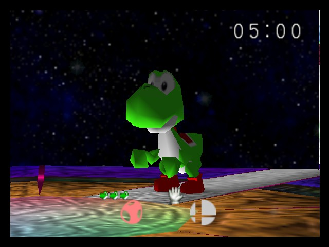Super Smash Bros. - Cut-Scene  - yoshi - User Screenshot