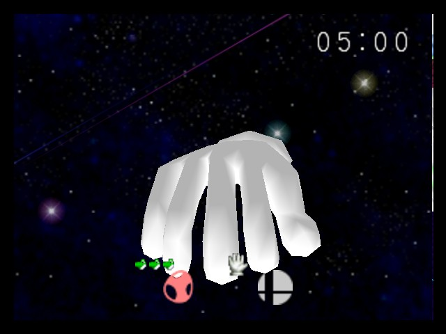 Super Smash Bros. - Cut-Scene  - master hand - User Screenshot
