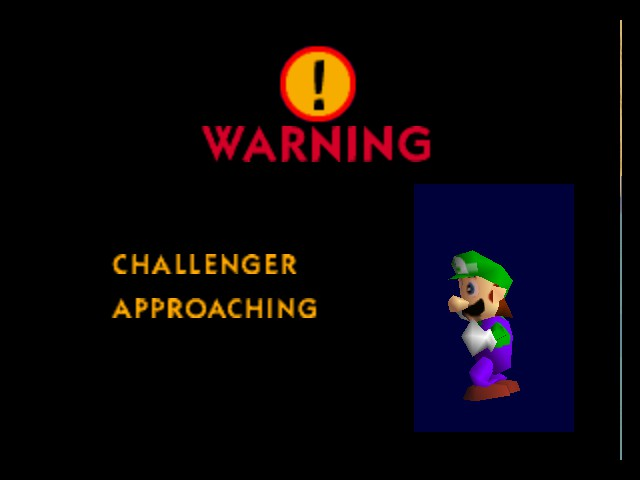 Super Smash Bros. - Character Profile  - Luigi - User Screenshot