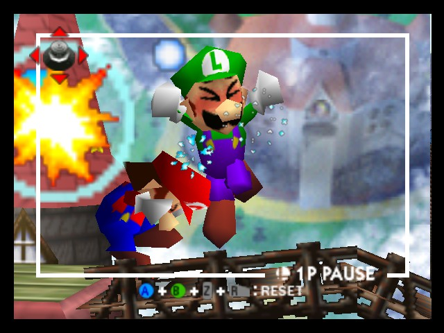 Super Smash Bros. - Battle  - Ouch, that hurt a lot - User Screenshot