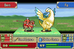 Fire Emblem - Fuuin no Tsurugi (english translation) - Battle  - Dude...I asked for a DRAGON...Not a chicken.. - User Screenshot