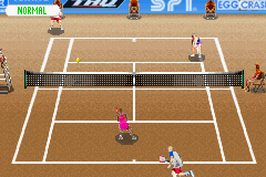 Virtua Tennis - Level  - Double Team Gameplay - User Screenshot
