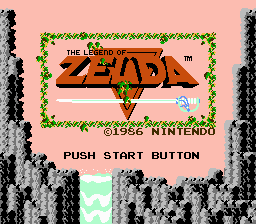 The Legend of Zelda - Introduction  - Title Screen - User Screenshot