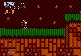 Sonic 2 - Project Shadow - Misc glithes - my stats are: [][][][]][]_ 930, I 0 07,  - User Screenshot