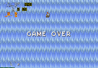 Sonic 2 - Project Shadow - Gameover  - wwwwwaaaahh - User Screenshot
