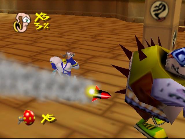 Earthworm Jim 3D - Battle - - User Screenshot