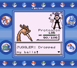 Pokemon Blue - Battle  - That