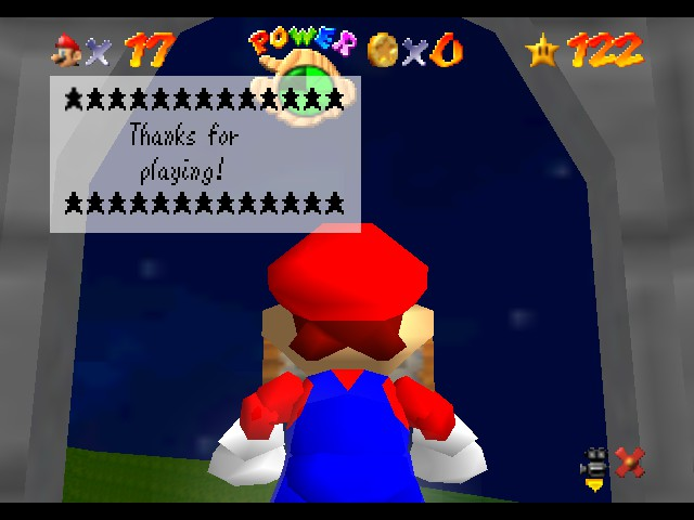Super Mario Star Road - Ending  - The End! - User Screenshot