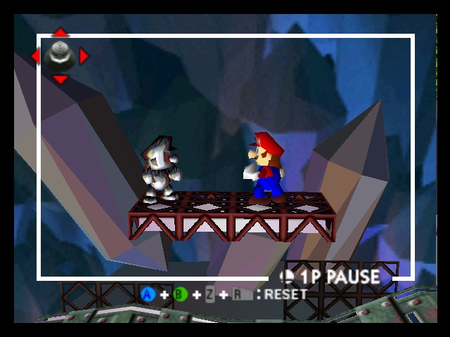 Super Smash Bros. - Battle  - Mario confronts his darker self... - User Screenshot