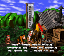 Donkey Kong Country - Ending  - Hey, that 101 percent wasn
