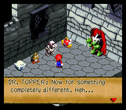 Super Mario RPG - Legend of the Seven Stars - Mini-Game  - IT