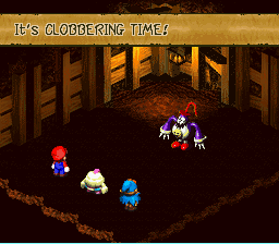 Super Mario RPG - Legend of the Seven Stars - Battle  - Lawsuit potential! D: - User Screenshot