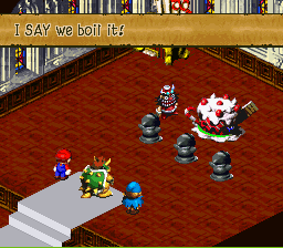 Super Mario RPG - Legend of the Seven Stars - Battle  - Oh, because it wasn