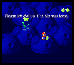 Super Mario RPG - Legend of the Seven Stars - Misc Star Hill Wishes - Mallow