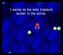 Super Mario RPG - Legend of the Seven Stars - Misc Star Hill Wishes - The treasure-hunting Toad from the coal mines - User Screenshot