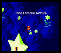 Super Mario RPG - Legend of the Seven Stars - Misc Star Hill Wishes - The late Punchinello - User Screenshot