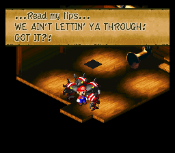 Super Mario RPG - Legend of the Seven Stars - Cut-Scene  - Really? I read