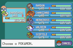 Pokemon Fuligin - Character Profile E4 Team - E4 Team - User Screenshot