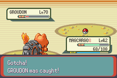 Pokemon Emerald - Battle  - Pokeball ! - User Screenshot