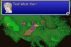 Final Fantasy V Advance - Cut-Scene  - Keep this a secret, Galuf. - User Screenshot