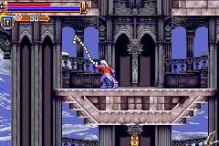 Castlevania - Harmony of Dissonance - Misc Random Shots - Snake WHIP!!! - User Screenshot