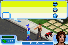 Sims 2, The - Pets - Mini-Game Friendship - Befriending Kirk. - User Screenshot