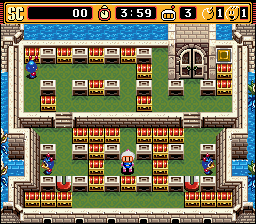 Super Bomberman 2 - Level 1 -  - User Screenshot