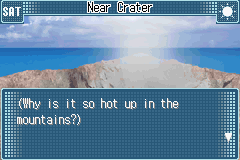 Yu-Gi-Oh! GX - Duel Academy - Location  - Jeez, i wonder why it is so hot up here! - User Screenshot