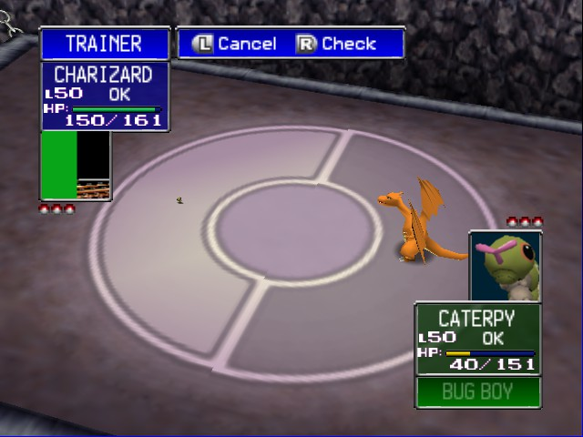 Pokemon Stadium - Battle  - So tiny (If you get the reference you= awsome - User Screenshot