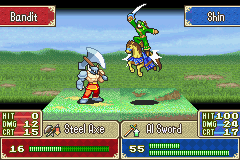 Fire Emblem - Fuuin no Tsurugi (english translation) - Battle  -  - User Screenshot