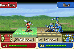 Fire Emblem - Battle  - triple team - User Screenshot