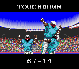 Tecmo Super Bowl - Cut-Scene  - Don