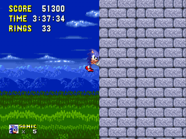 Sonic 1 Megamix (beta 4.0) -  - User Screenshot
