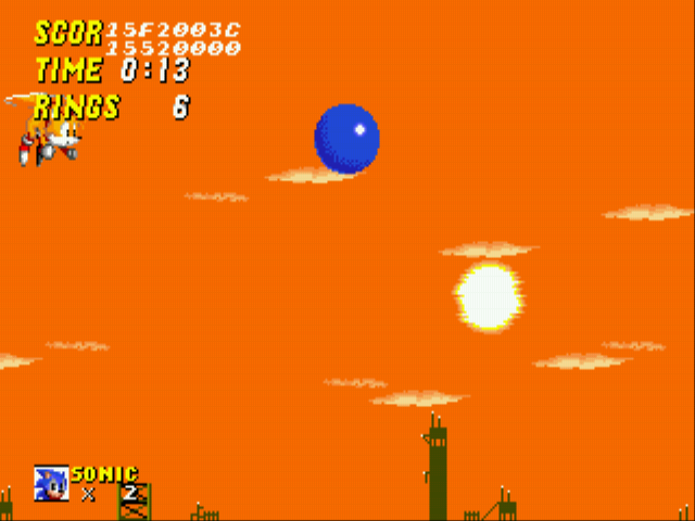 Sonic 2 Long Version - SUPER MAN ! - User Screenshot